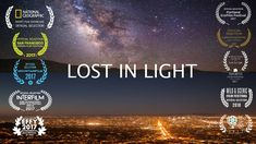 Lost in Light, a short film on how light pollution affects the view of the night skies. Shot mostly in California, the movie shows how the view gets progressively… Sky Gif, Feel So Close, Sky Full Of Stars, Light Pollution, One With Nature, L And Light, Dark Skies, Animation, Sky And Clouds