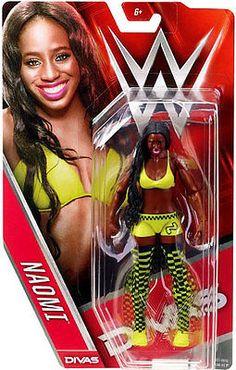 WWE Wrestling Series 56 - Naomi Figure by Mattel