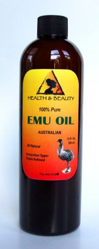 Emu Oil Australian Organic Triple Refined Premium Quality Natural 100 Pure 64 oz >>> Check out the image by visiting the link. Amazon Beauty Products, Pure Products, Makeup Products, Australian Organic, Natural Makeup Remover, Emu Oil, Organic Shampoo, Baby Shampoo, Massage Oil