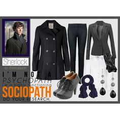 """""""Sherlock"""" .....loving the black on black on black!!!  Can't wait for fall and winter!!"""