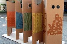 Recicora biombos biombos y separadores de espacios pinterest - Biombos casa home ...