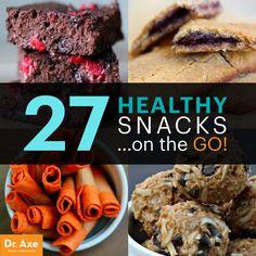 Healthy Snacks On-the-Go - Dr.Axe