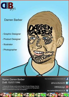 Darren Barber - Personal Promotion Flyer
