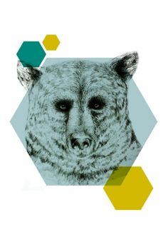 Geometric Bear, Sofie Rolfsdotter