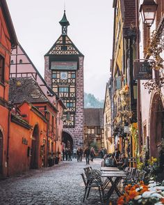 Riquewihr, near Colmar, France