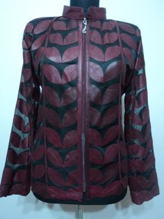 Buy Online Handmade Very Soft Genuine Lambskin Plus Size Leather Leaf Jackets for Women. All Regular and Plus Sizes Available in All Colours. Free Shipping , Returnable. [ BUY 2 SAVE $20 ] ...