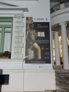 #SironiSorrento #allestimento La facciata di Villa Fiorentino è pronta!