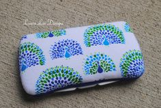 Peacocks in Blue and Green Boutique Style by LauraLeeDesigns108, $9.00