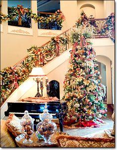 Christmas Home Decorating Dallas | Christmas Interior Designers DFW