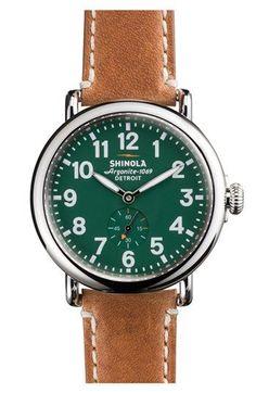 Shinola 'The Runwell' Leather Strap Watch @Nordstrom