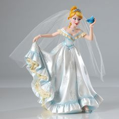 Name: Cinderella Introduction: June 2014 Item Number: 4045443 Dimensions: 6.25 x 4.5 x 8 inches Weight: 1.60 lb Reigning Disney Princesses strike a pose in this stunning NEW ensemble of highly detaile