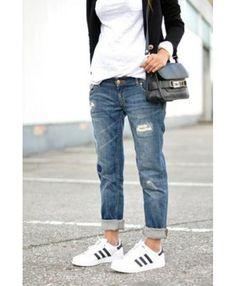 Adidas Superstar Womens Outfit Sale UK T-1022 Fashion Mode f153e3cc81