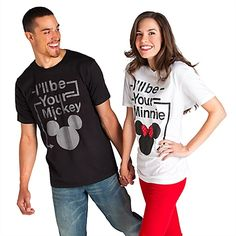 ''I'll Be Your Minnie/Mickey'' T-shirts for Disney Honeymoon