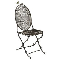 I pinned this Bird Accent Chair from the Animal Attraction event at Joss and Main!