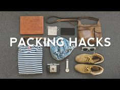 27 Travel PACKING HACKS - How to Pack Better! - YouTube