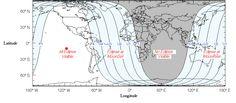 "Visibility of lunar eclipse April 15, 2014. http://eclipse.gsfc.nasa.gov/LEplot/LEplot2001/LE2014Apr15T.pdf (Credit: Fred Espenak) Mona Evans, ""Lunar Eclipses"" http://www.bellaonline.com/articles/art28454.asp"