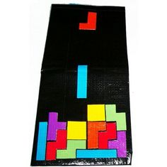 Haha! Tetris duck tape wallet! Lol