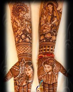 Photo By Harin's Mehndi - Mehendi Artist Peacock Mehndi Designs, Modern Mehndi Designs, Dulhan Mehndi Designs, Mehndi Design Photos, Wedding Mehndi Designs, Mehndi Designs For Hands, Henna Tattoo Designs, Mehendi, Mehndi Images