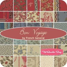 Bon Voyage YardageFrench General for Moda Fabrics | Fat Quarter Shop