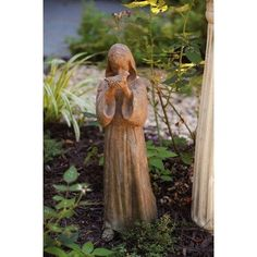 St.Francis Statue by Evergreen Enterprises, Inc. $29.39. EG842164 Dimensions: -Dimensions: 12.76'' H x 16.74'' W x 17.68'' D.. Save 38%!