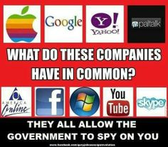 Government spying. Has is really come to this piont were we can even say how we feel on social media without getting critizied by the government. What happened to our right to free speech and our right to privacy. Well it looks like the government doesn't care because they didn't even inform us that they were looking at our profiles or listening into our phone conversation. It time for the government to stop invading our lives