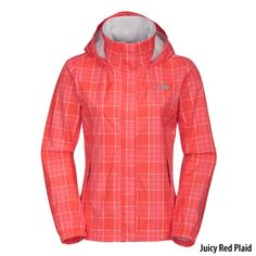 Gander Mountain® > The North Face Womens Resolve Plaid Jacket - Apparel > Women's Apparel > Rainwear > Jackets :