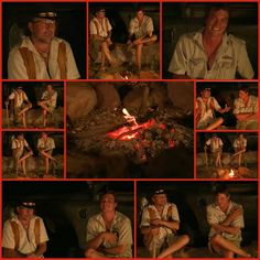 This is a collage of a fire chat with Marc and Brent,  I belong to facebook group called Djumies.  People from group are great in creating the collages,