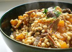 Zuppa d'orzo Zucca e Porcini