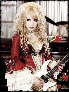 Hizaki (Versailles) (J-Rock) I personally love his Ascendead Master look