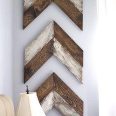 Chevron Arrows Wood Diy
