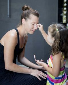 Daughters Do Their Moms' Makeup   123 Inspiration
