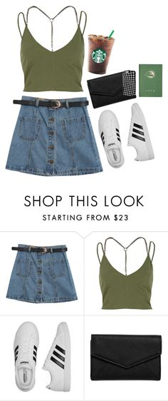 """summa summa"" by versaucey on Polyvore featuring Chicnova Fashion, River Island, adidas and LULUS"