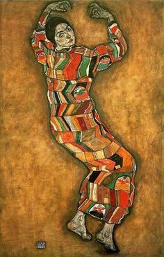 Friederike Maria Beer by Egon Schiele, 1914