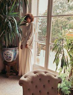 Mica Arganaraz, Edie Campbell by Inez van Lamsweerde & Vinoodh Matadin for Vogue Paris October 2015 10