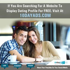 If you are searching for a website to display dating profile for free. Visit at 10dayads.com #FreeAdvertisingOnline #DatingSites