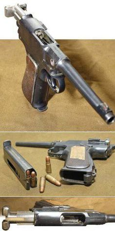 18 shot 7.62mm Vojvodina pistols sample 1939