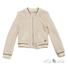 L:ú L:ú by @Miss Grant Official beige lacy cardigan #beige #missgrant #SS14 #spring #summer #springsummer2014 #childrens #kids #childrenswear #kidswear #kidsfashion #girls
