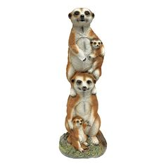 Design Toscano Meerkat Generations Garden Statue *** Be sure to check out this helpful article. #GardenDecor