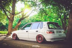 Toyota Conquest Hatchback Ae92 Toyota Starlet, Air Ride, Toyota Cars, Toyota Corolla, Jdm, Cars And Motorcycles, Racing, Vehicles, Engine