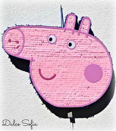 Piñata George Pig. https://www.facebook.com/dulce.soffia