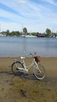If only we could ride the water... ... Tags: #Batavus, #Diva, #Bicycle, #Bike, #small #adventure, #marina