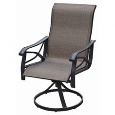 Find The Courtyard Creations Torrey Pines Sling Swivel Rocker By Courtyard  Creations At Mills Fleet Farm
