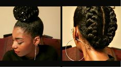 4 PROTECTIVE NATURAL HAIRSTYLES TO RETAIN LENGTH [Video] - http://community.blackhairinformation.com/video-gallery/natural-hair-videos/4-protective-natural-hairstyles-retain-length-video/