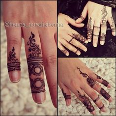 No occasion ,everyday design of mehndi.