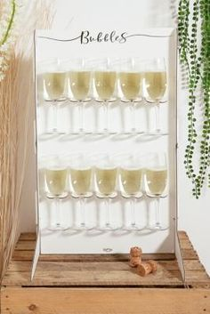 Shop Ginger Ray Bubbles Prosecco Wall Holder at Urban Outfitters today. 21st Party, Gold Birthday Party, Mum Birthday, Summer Birthday, Urban Outfitters, Summer Pool Party, Support Mural, Partying Hard, Bar Accessories