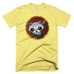 Rocket Raccoon with Baby Groot Shirt - White Baby Groot Shirt, Galaxy Shirts, Rocket Raccoon, American Comics, Netflix, Third, Stars, Mens Tops, Star