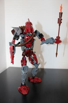 Taito - Matoran/Toa of Fire http://www.flickr.com/photos/142731206@N07/30563425936/