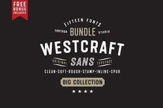 Westcraft Sans by Tortugastudio on @creativemarket