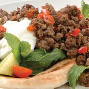 Free spiced mince with pita bread and yoghurt recipe. Try this free, quick and easy spiced mince with pita bread and yoghurt recipe from countdown.co.nz.