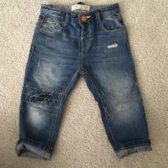 Zara baby Boy jeans Have been worn just One time! Like New! Zara Jeans Skinny